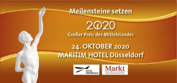 24. Oktober 2020 - BUNDESBALL - Maritim Hotel Düsseldorf