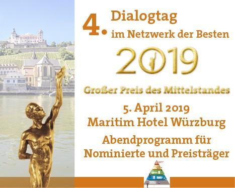 Abend 4. Dialogtag - Netzwerk-Sonderpreis